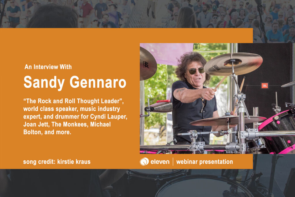 An Interview with Sandy Gennaro
